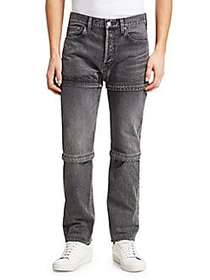Balenciaga Zipped Jeans GREY