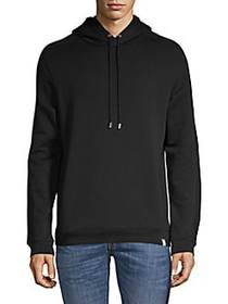 Versace Collection Jersey Popover Hoodie BLACK