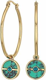 Vince Camuto Charm Hoops Earrings