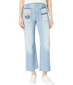 7 For All Mankind Cropped Alexa in Roxy Lights