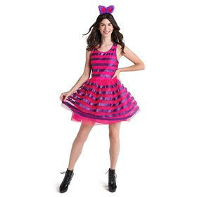 Disney Cheshire Cat Costume with Tutu for Adults –