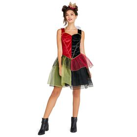 Disney Queen of Hearts Costume with Tutu for Adult