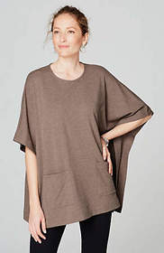Pure Jill Patch-Pocket Poncho