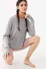 Forever21 Active Marled Vented Sweater