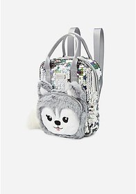 Justice Husky Sparkle Mini Backpack