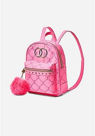 Justice Justice Signature Pink Mini Backpack