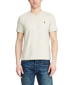 Polo Ralph Lauren Classic-Fit Short-Sleeve V-Neck