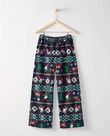 Hanna Andersson Supersoft Flannel PJ Pants in Gnom
