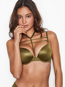 Bombshell Add-2-Cups Strappy Push-Up Bra