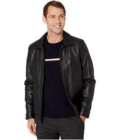 Tommy Hilfiger Faux Leather Classic Lay Down Colla