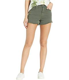 7 For All Mankind High-Waisted Cut Off Shorts in A