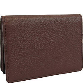 AmeriLeather Leather ID and Business Card Holder