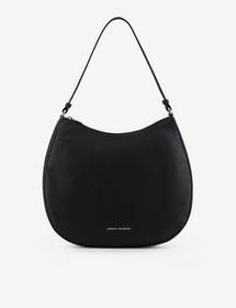 Armani FAUX LEATHER HOBO BAG