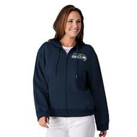 Officially Licensed NFL Women's Full-Zip Hoodie by