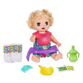 Baby Alive Happy Hungry Baby Doll - Blonde Curly H