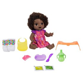 Baby Alive Happy Hungry Baby - Black Curly Hair