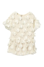 Burberry Anabella Ruffle Sleeve Dress (Little Girl