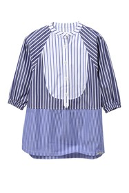 Burberry Elodie Mixed Stripe Shirt Dress (Little G