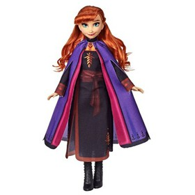 Disney Frozen 2 Anna Fashion Doll With Long Red Ha