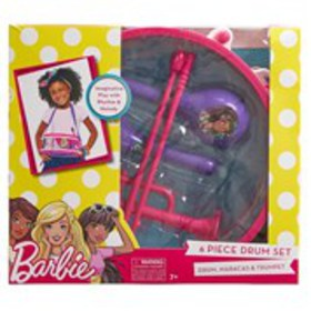 BARBIE Barbie 6-piece Drum Set