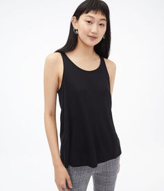 Aeropostale Twist Back Cutout Tank