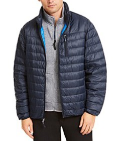 Men's Packable Down Blend Puffer Jacket, Created f