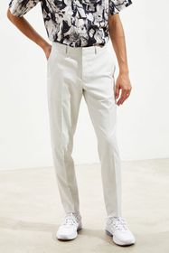 UO Ice Grey Skinny Fit Suit Pant