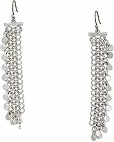 Lucky Brand Chain Statement Earrings