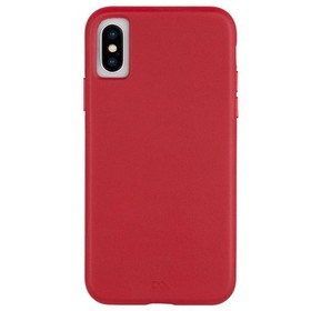 Case-Mate iPhone Xs / X Cardinal Barely There Leat