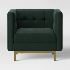 Cologne Tufted Track Arm Chair - Project 62™