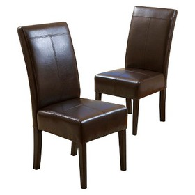 Set of 2 T-Stitch Dining Chairs - Christopher Knig