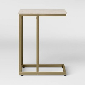 Greenwich Square Marble C Table - Threshold™