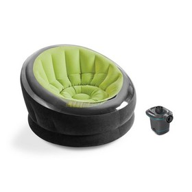 Intex Empire Lime Green Inflatable Blow Up Lounge