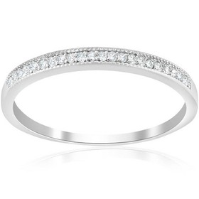 Pompeii3 1/8ct Diamond Wedding Ring 14K White Gold