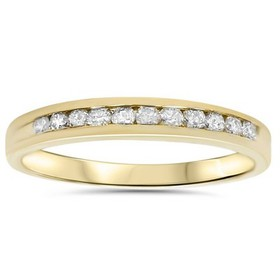 Pompeii3 1/4ct 14K Yellow Gold Diamond Wedding Gua