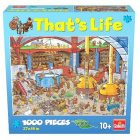 Pressman Goliath That's Life: The Brewery Puzzle 1