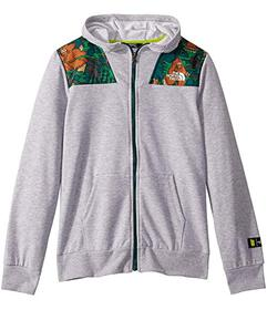 The North Face Kids Terry Peak Full Zip Hoodie (Li