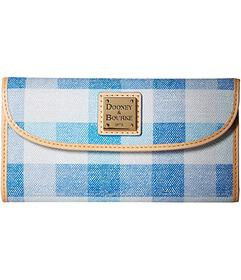 Dooney & Bourke Quadretto Check Continental Clutch