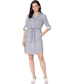 Jones New York Button Down Belted Dress