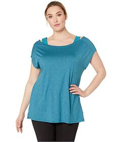 Columbia Plus Size Place To Place™ Short Sle