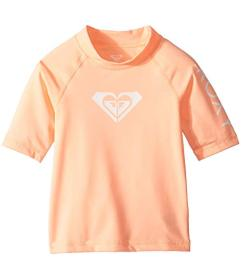 Roxy Kids Whole Hearted Short Sleeve Rashguard (To