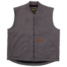 Mens Stanley Duck Canvas Sherpa Lined Vest