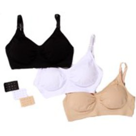 Just Intimates Nursing Bras for Women (Pack of 3) on sale at Walmart