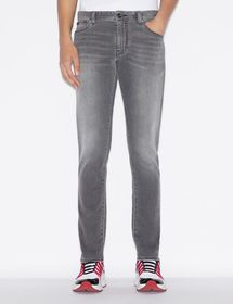 Armani FIVE-POCKET DENIM SKINNY JEANS
