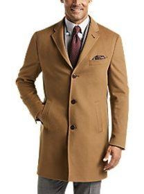 TailoRed Extra Fine Wool Modern Fit Top Coat, Came
