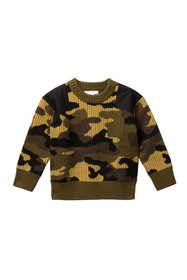 Burberry Wool Camo Sweater (Little Boys & Big Boys