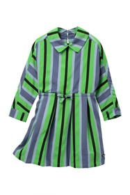 Burberry Crissida Stripe Dress (Little Girls & Big