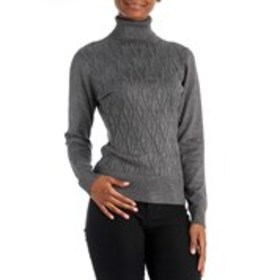 ECLECTIC Diamond Knit Turtleneck Sweater