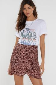 Nasty Gal Womens Pink Tail It to Someone Who Cares