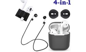 Apple AirPods Accessories & Skins Kit - 4 Pc Set
